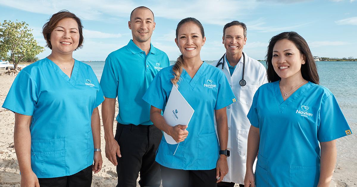 Navian Hospice Hawaii care team